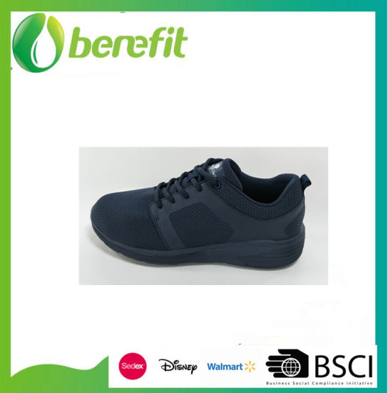 Flyknit Upper and PVC Injected Sports Children Shoes