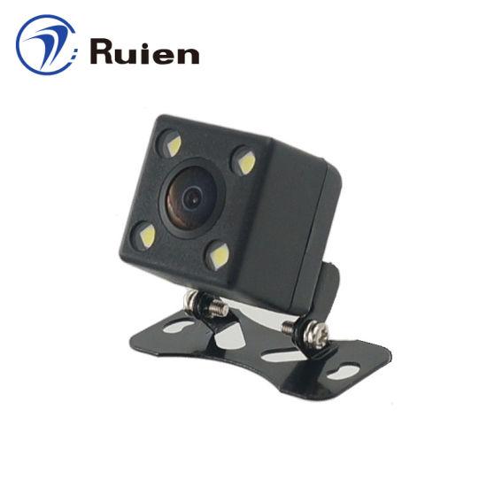 Ahd Camera, 6 Glass Lens, Starlight Night Vision, Night Vision Reversing Camera Dull Night Vision Car Camera, 200 Degrees Lens Angle