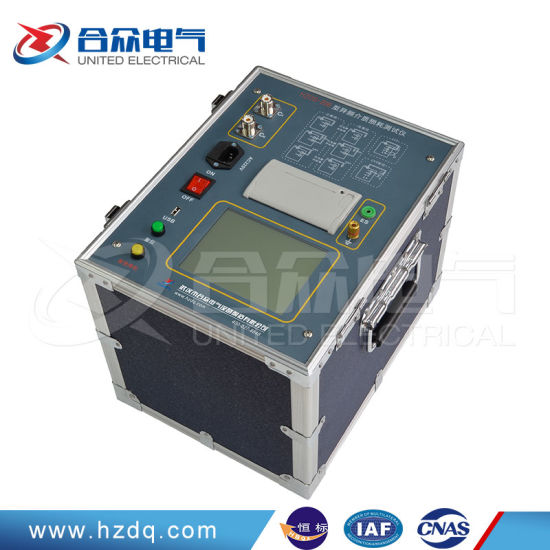 Transformer Tan Delta Power Factor Tester Automatic Dielectric Capacitance Test Instrument