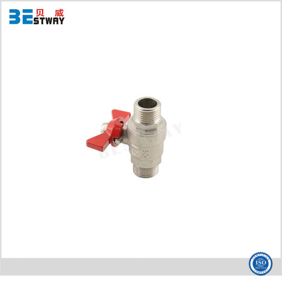Alloy Butterfly Handle Brass Ball Valve pictures & photos