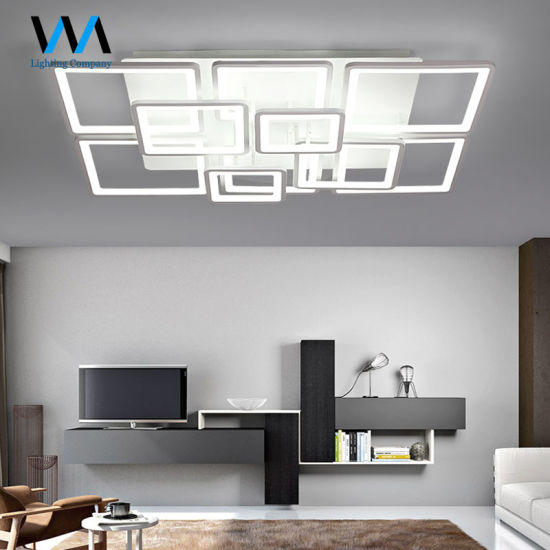 China Zhongshan Factory Expensive Modern Led Ceiling Lights For
