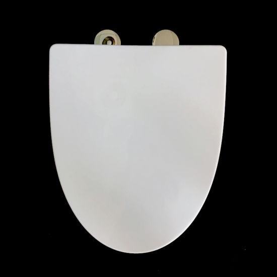 China Sanitary Ware PP Material Bathroom Toilet Seat Wc Elongated Cover Accessories