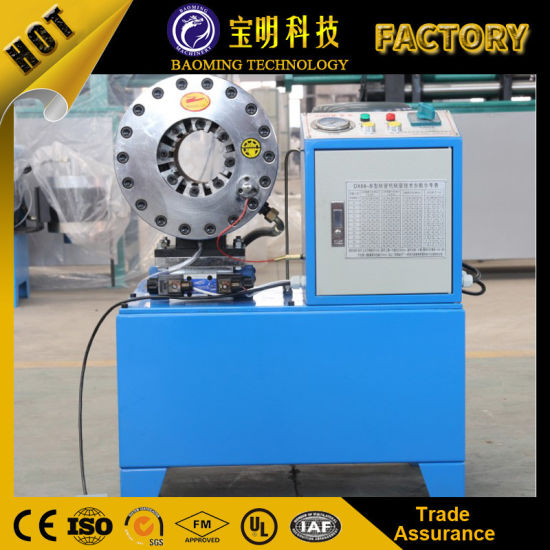 Ce 1/4'' to 2'' Finn Power Hydraulic Hose Crimping Machine