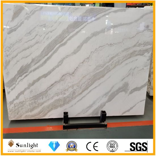 Natural Stone Polished Calacatta Star White Marble for Home/Kitchen Decoration
