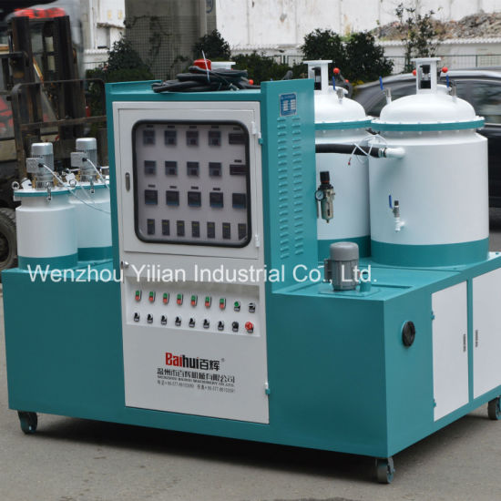 Multiple Color 60 Station Color Dosing PU Machine for Safety Shoes