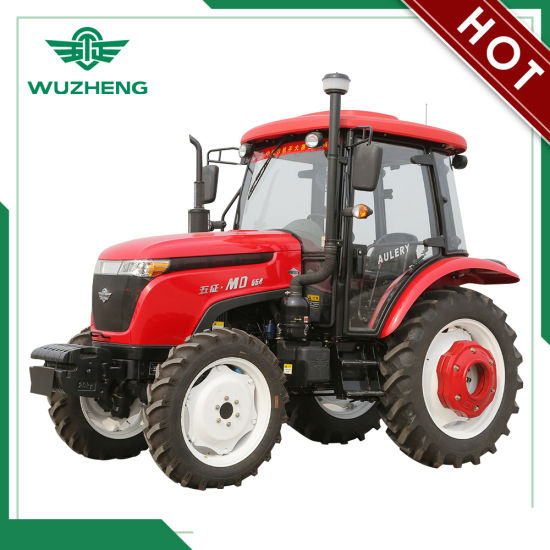 WUZHENG 55HP Tractor with Synchronization Shift Gearbox pictures & photos