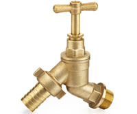 Angle Classic Design Hose Connection Brass Bibcock for Water Supply