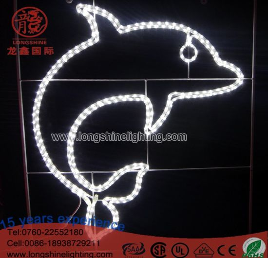 LED Dolphin Sea World Decoration Rope Light
