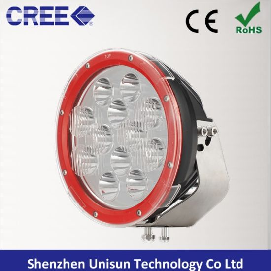 "12V-60V 9"" 120W 9600lm 12X10W CREE LED Driving Light"