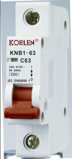 Supply High Quality Mini Circuit Breakers Knb1-63-2000 pictures & photos