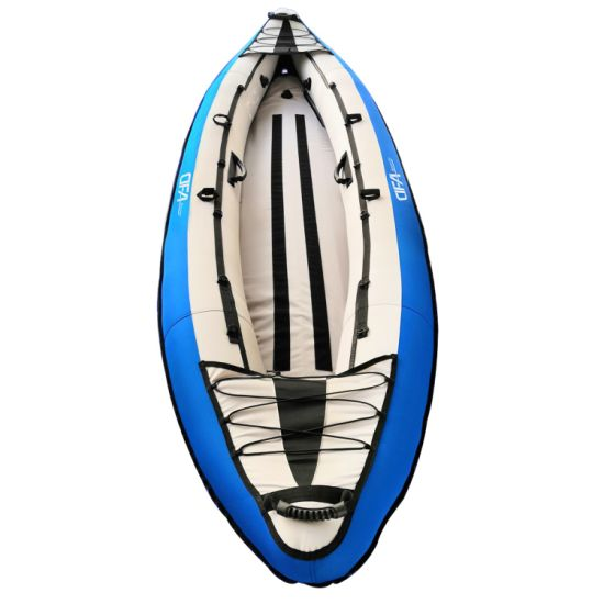 Dfaspo Stock Wholesale Nylon and Polyester Inflatable Kayak 2 Person Boat