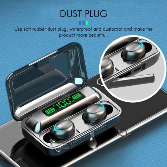 Smart Touch F9 Bluetooth 5.0 Wireless Earbuds Earphone True Wireless Stereo Gaming Noise Cancelling Waterproof