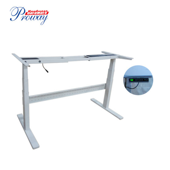 China Height Adjustable Standing Desk Frame Lifting Table with Smart ...