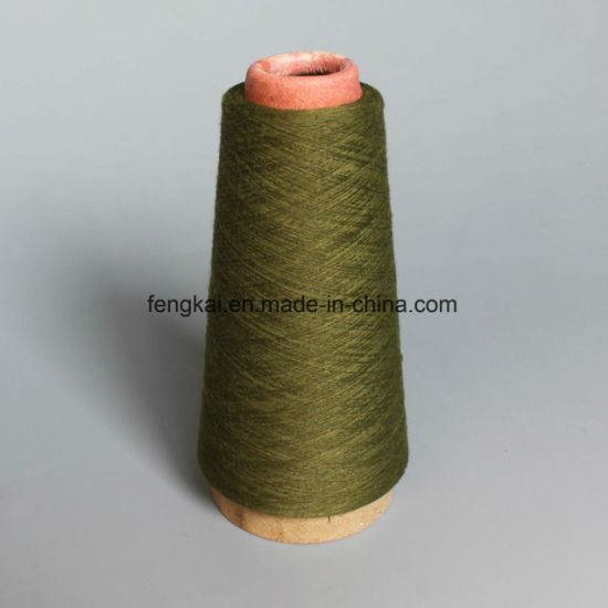 Polyester Spun Yarn- Light Navy pictures & photos