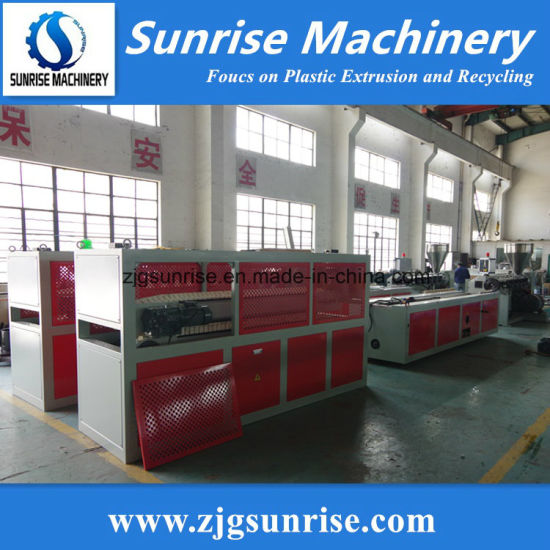Reliable Plastic PVC Profile Production Line / Extrusion Line pictures & photos