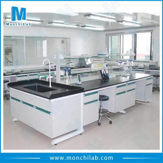 Medical Lab Furniture with Phenolic Resin Worktop