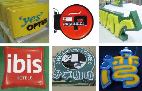 Outdoor Advertising Double Sided LED Light Box pictures & photos