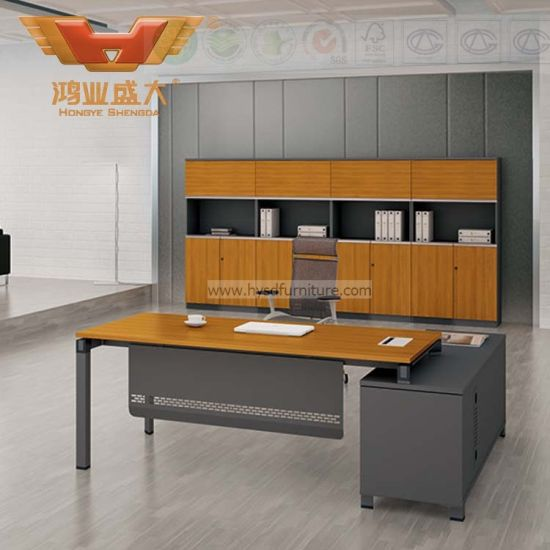Newly Design Office Furniture Wood Office Table (H60-0103)