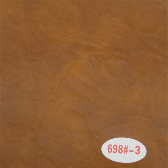 High Abrasion-Resistant Oil Wax Skin Sofa Upholstery Synthetic Leather pictures & photos