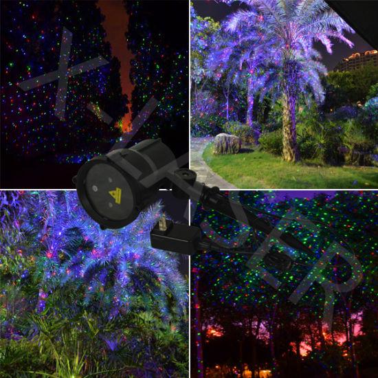 christmas decoration light outdoor garden lights elf laser lights