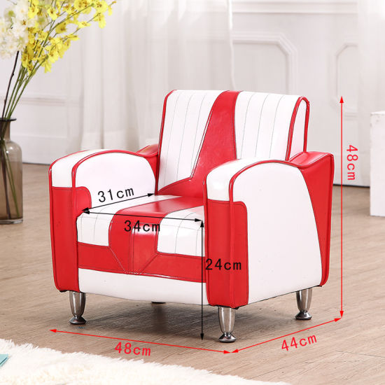 1+2 Home Sofa Set / PVC Leather Kids Furniture pictures & photos