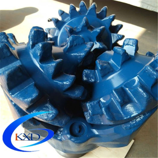 """6"""" Milled Tooth Tricone Drill Bit for Oilfiled Drilling"""