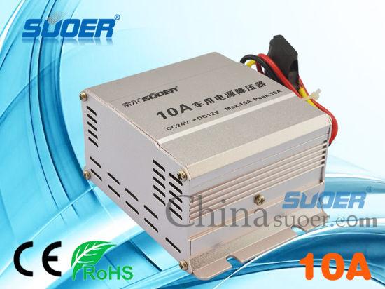 China Car Power Transformer DC 24V to 12V Car Power Supply ...