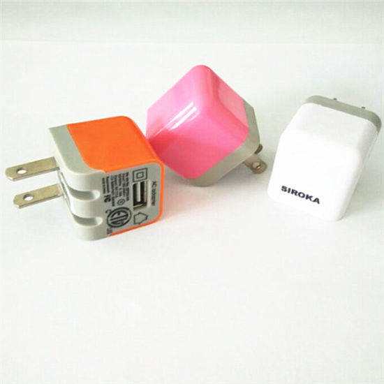 OEM Package 5V 1000mA Us Wall Charger Mobile Adapter USB to AC Converter Plug for Samsung I9100 Galaxy S2 pictures & photos