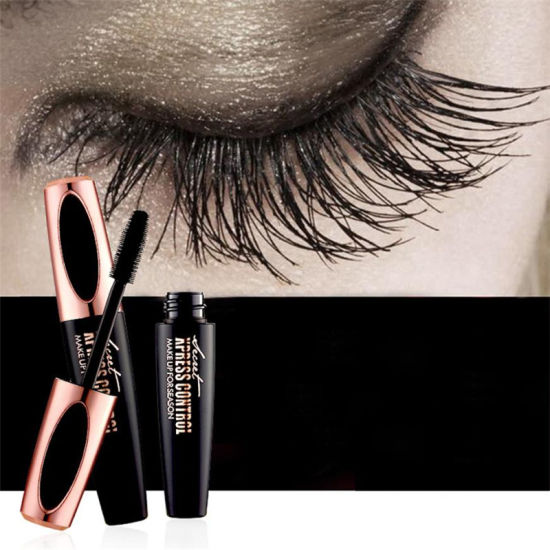 a25aa95361a New 4D Silk Fiber Lash Mascara Waterproof Mascara for Eyelash Extension  Black Thick Lengthening Eye Lashes