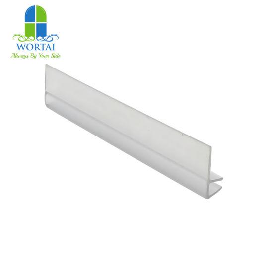 China F Shape Shower Door Water Proof Plastic Glass Door Seal