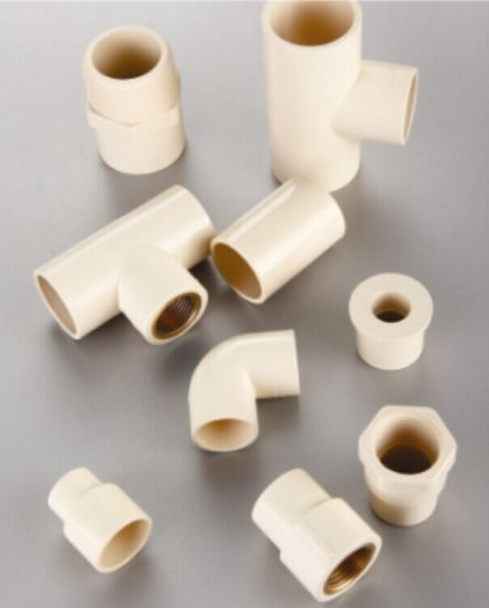 CPVC ASTM D2846 Pipes and Fittings for Water Supply Tee pictures & photos