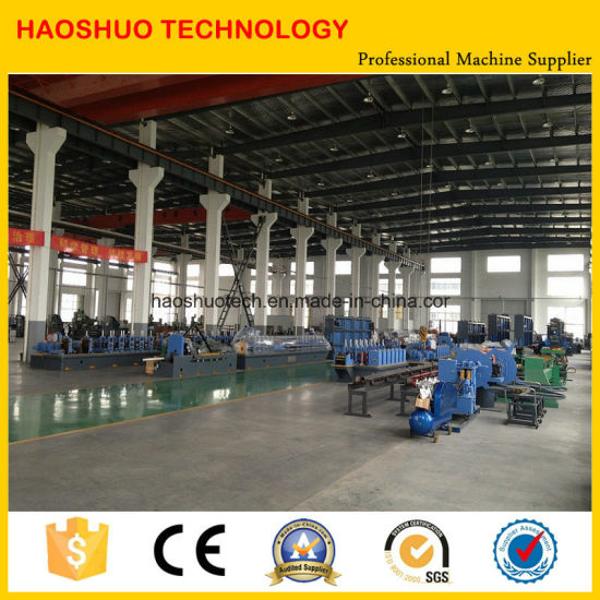 Straight Seam Pipe Making Machine with High Frequency Welding pictures & photos