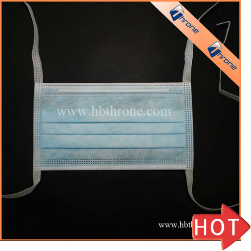 PP Nonwoven 3ply Earloop Disposable Surgical Face Mask with Earloops and Tie-on pictures & photos