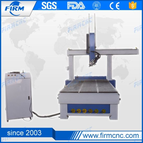 New Design 4 Axis Wood CNC Router with Rotary Axis