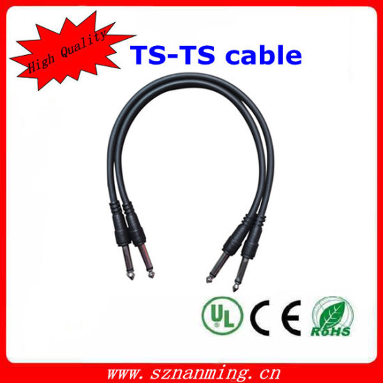 china 1 4 mono jack plug guitar cable china guitar cable stereo rh sznanming en made in china com