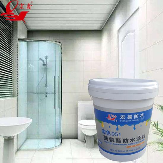 Bathroom Waterproof Material Polyurethane Waterproof Paint