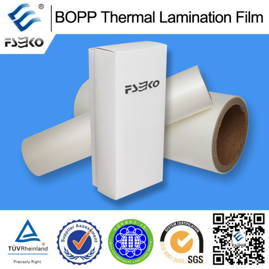 BOPP Pre-Glued Thermal Lamination Film (Matte) pictures & photos