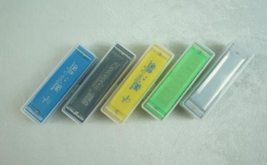 10 Holes Blues Harp Practice Harmonica pictures & photos