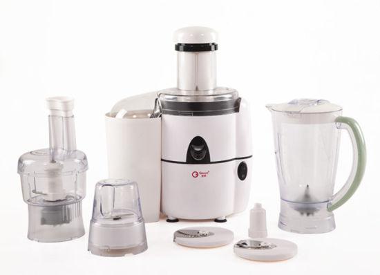 6 in 1 Mult Function Food Processor with 450W Juicer, Blender, Grinder, Mincer, Slicing&Julienne Maker