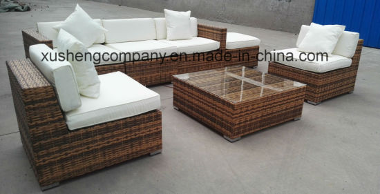 China Garden Patio Wicker / Rattan Sofa Set - Outdoor Furniture ...