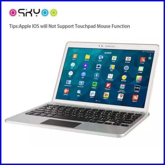 Tablet PC Wireless Bluetooth Touchpad Keyboard pictures & photos