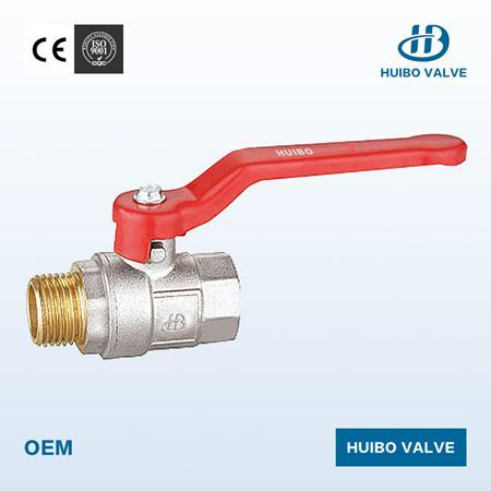"""1/2""""-2""""Inch Brass Ball Valve with Zinc Alloy Handle"""