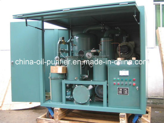 High Vacuum Transformer Oil Purification System Machine