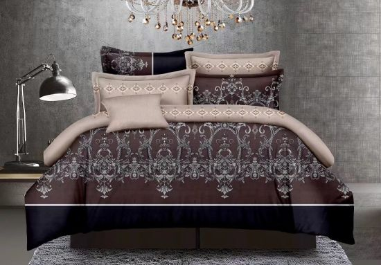 New Designs Microfiber Wholesale Comforter Sets Beddings for MID East Countries