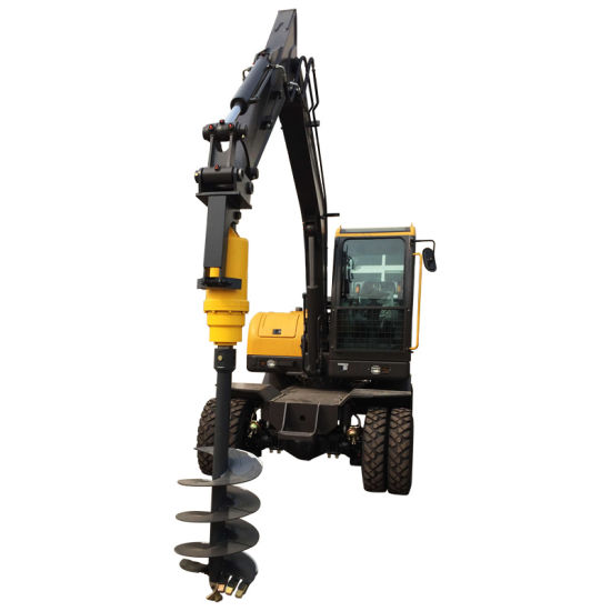 Jcb Excavator Attachments Rotary Earth Auger Drill Bit