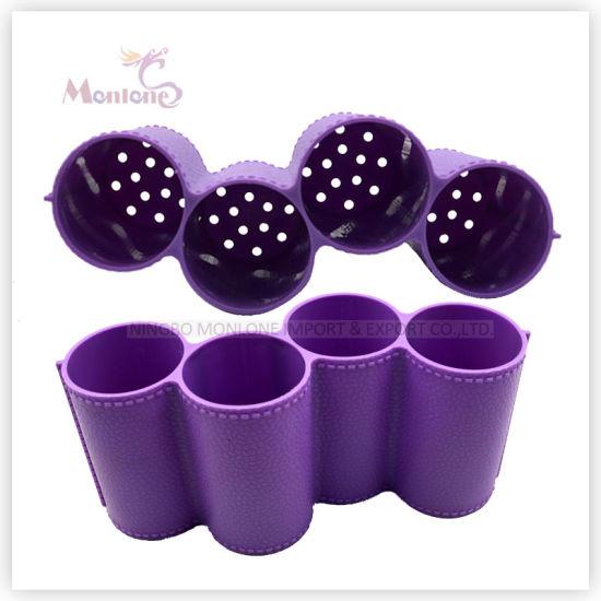 Kitchenware Accessories BPA Free 4 Conjoined Plastic Spoon/ Chopsticks Holder
