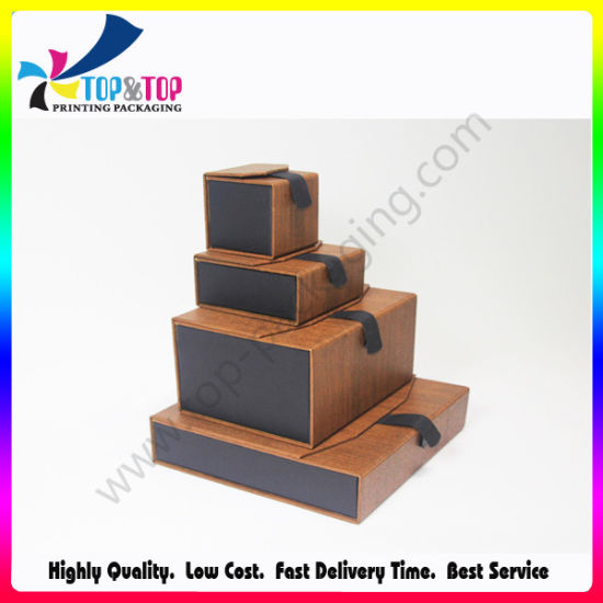 China Professional Factory OEM Design Paper Jewelry Box Making