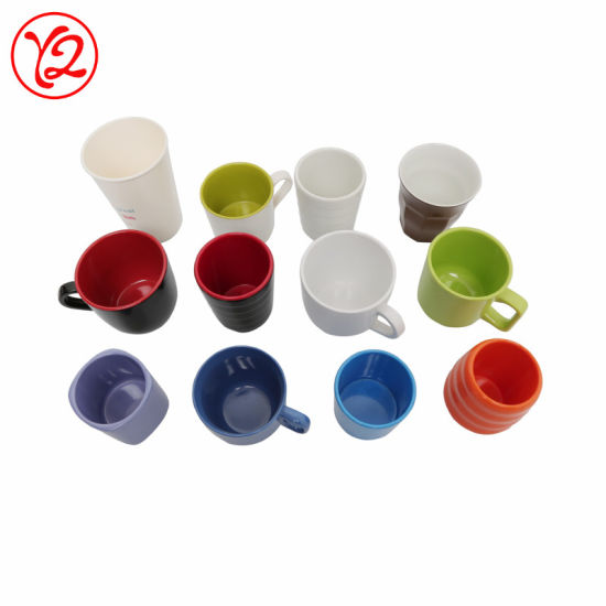 High Quality Melamine Different Size Print Color Cup