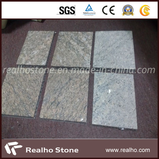China Natural Granite Composite Tile With Aluminium Honey Comb