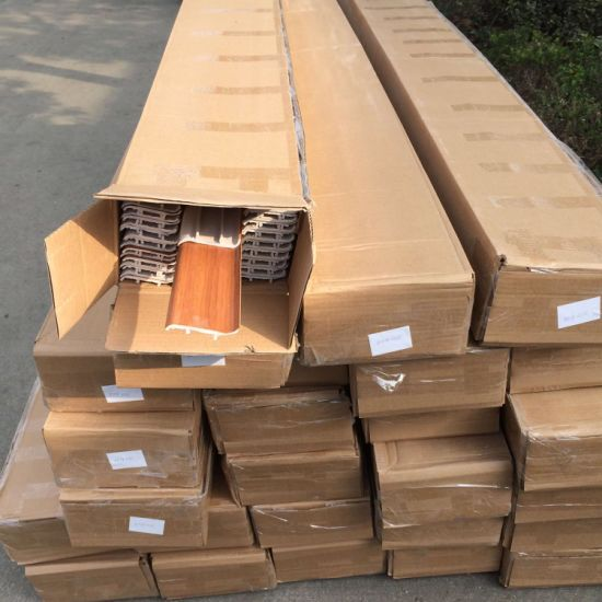 High Quality Best Price PVC Skirting Boards for Bamboo Flooring pictures & photos